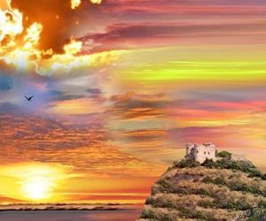 castle, Dream, and dreams image