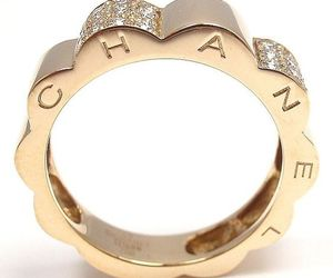 chanel, gold, and pretty image
