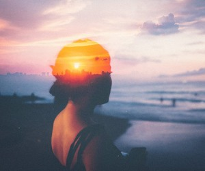 beautiful, sea, and far away image