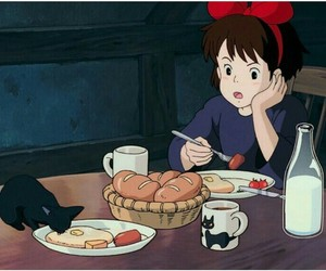 anime, gif, and kiki's delivery service image