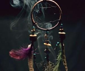 Dream, dreamcatcher, and smoke image