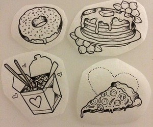 tattoo and food image