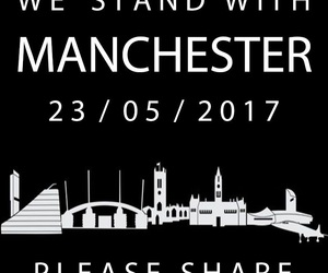 manchester, pray, and united image