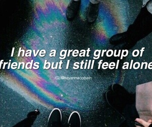 friends, grunge, and quote image