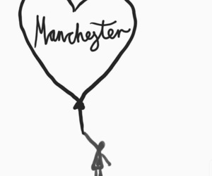 manchester, pray, and terrorism image