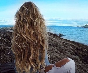 long hair, spring, and spring look image