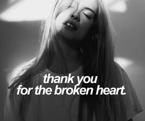 broken heart, quotes, and text image