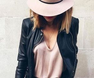 accessories, black, and blouse image