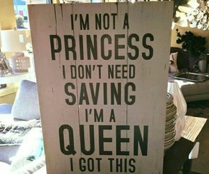 quotes, girl, and princess image