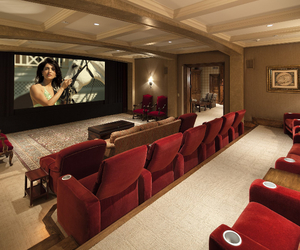california, cinema, and decor image