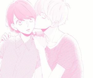 kiss, manga, and pastel image