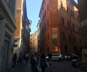 buildings, italy, and street image