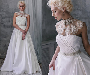 etsy, wedding dress, and bridal gowns image