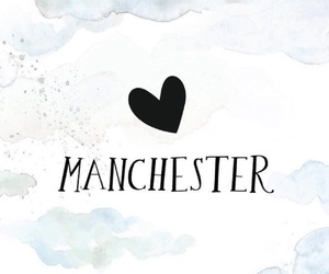 beautiful, manchester, and text image
