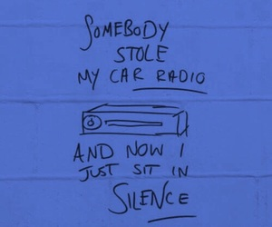 pink, twenty one pilots, and car radio image