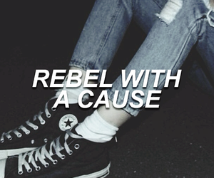 grunge and rebel image