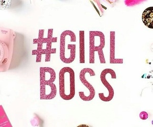 girl and boss image