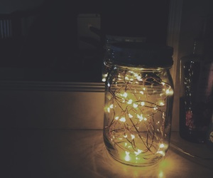 alternative, fairy lights, and indie image