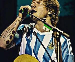 argentina, ed sheeran, and concert image