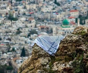 city, palestine, and nablus image