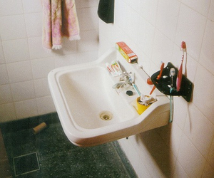 bathroom, hipster, and indie image