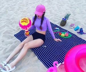 asia, asian, and beach image