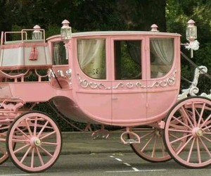 pink and carriage image