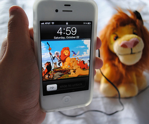 iphone, photography, and lion king image