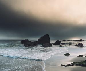 ocean, landscape, and sea image