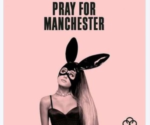 ariana grande, pray for manchester, and manchester image