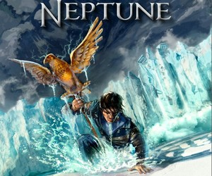 percy jackson, book, and the son of neptune image