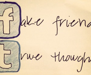 facebook, tumblr, and friends image