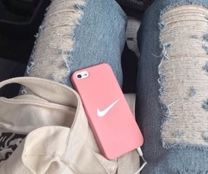 nike, iphone, and jeans image