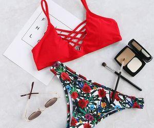 bikini, swimsuit, and body image