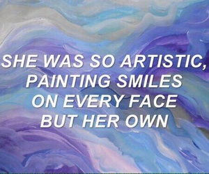 quotes, art, and smile image