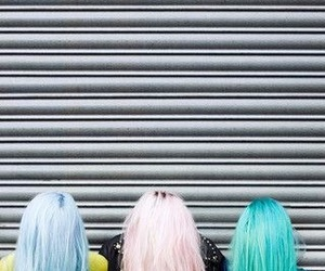colour, pastel, and hair image