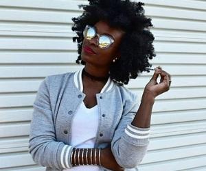 Afro, beauty, and choker image