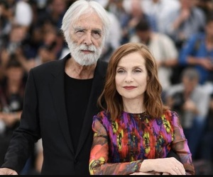 isabelle huppert, cannes 2017, and happy end image