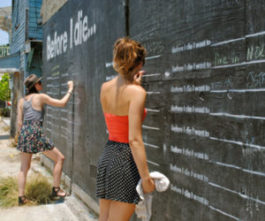 before i die, girl, and summer image