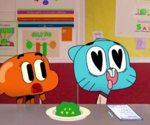 cartoon network, darwin, and gumball image