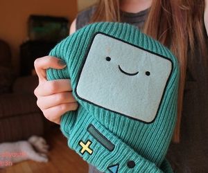 beanie, adventure time, and bmo image
