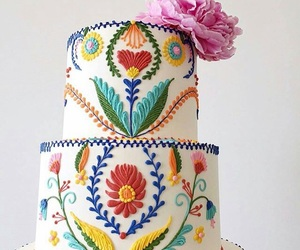 cake, cakes, and mexican image