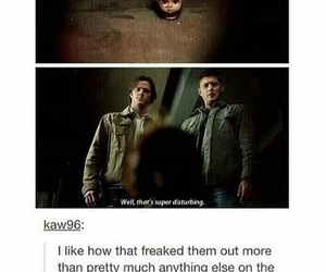 angst, dean, and family image