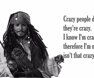 jack sparrow, pirates of the caribbean, and quote image