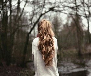 hair, nature, and adventure image