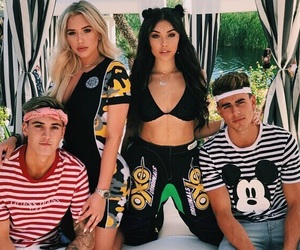 madison beer, coachella, and jack gilinsky image