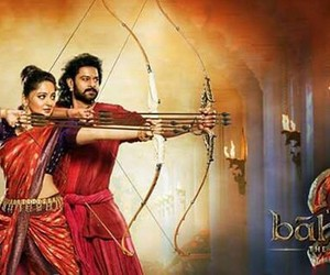 prabhas, bahubali, and anushka shetty image