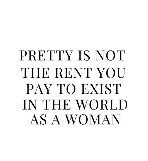 feminism, pretty, and quotes image