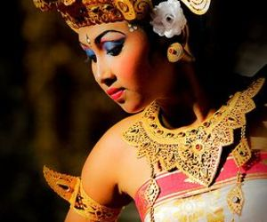 bali, eyes, and dance image
