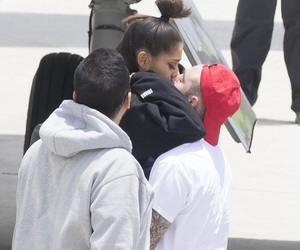 ariana grande, couple, and manchester image